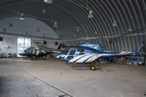 Хранение вертолета